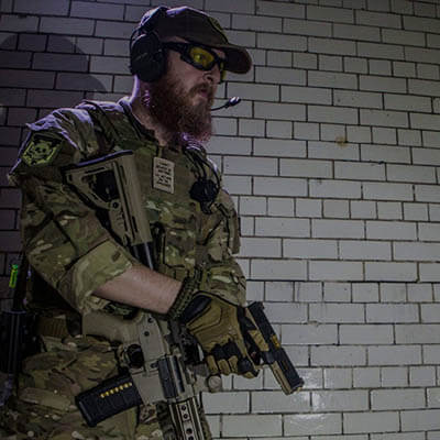 Airsoft Safety & Site Info - Photo of Bristol Airsoft Marshall